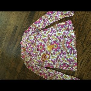 Like NEW! Tory Burch Floral Print Blouse